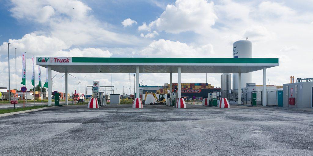 Tankstation LNG Antwerpen
