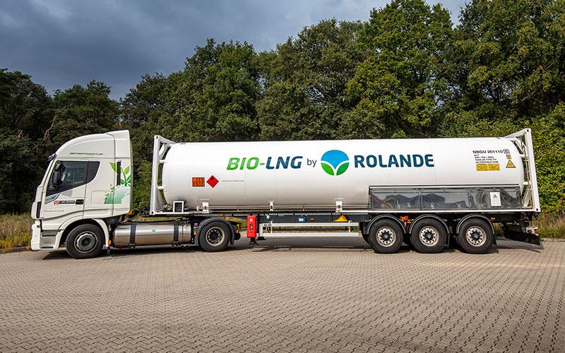 Bio-LNG by Rolande truck